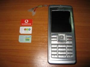 SIMカードと端末
